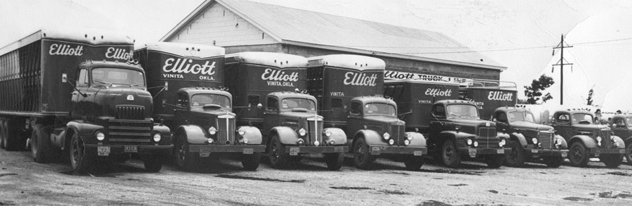 Used Tractors For Sale >> History - Elliott Truck Line